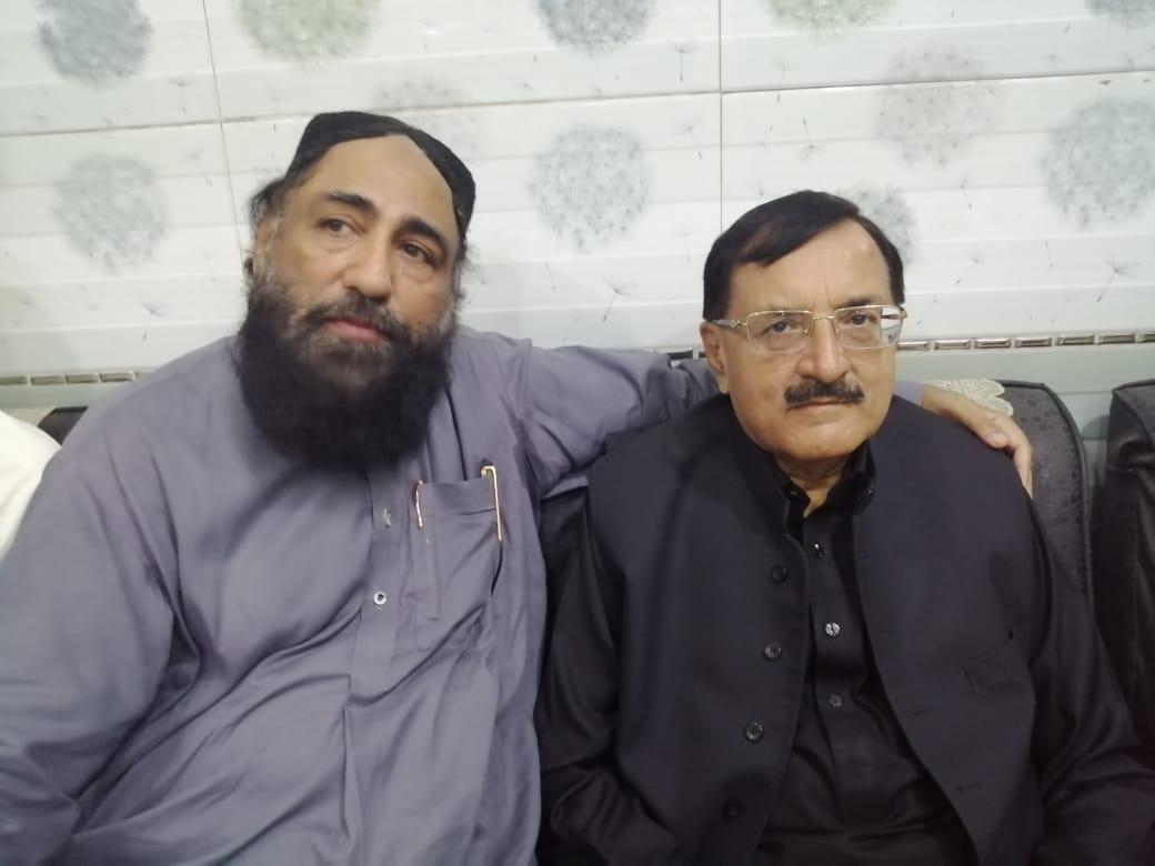 میجر(ر)طاہر صادق کی ڈاکٹر امجد کاظمی سے ملاقات