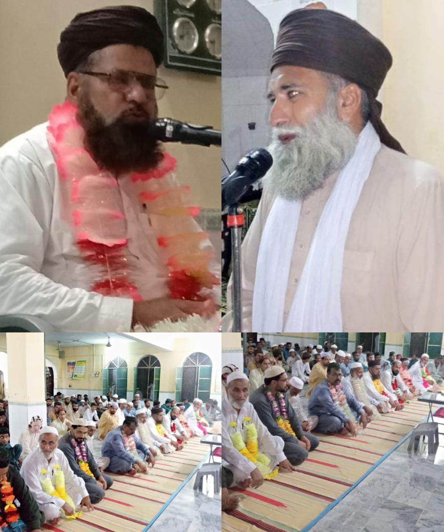 ڈھوک فتح اٹک میں محفل  ذکر امام حسینؑ